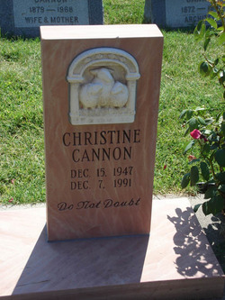 "Christine ""Kiki"" Cannon"