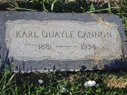 Karl <I>Quayle</I> Cannon