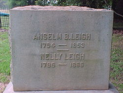 "Mary Eleanor ""Nelly"" <I>Drane</I> Leigh"