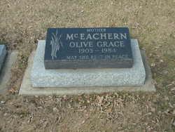 Olive Grace <I>Black</I> McEachern
