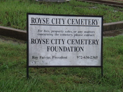 Royse City Cemetery