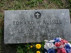 Edward W Russell
