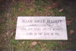 Susan Adger Bennett