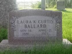 "Laura Kate ""Kate"" <I>Curtis</I> Ballard"
