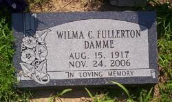 Wilma C. <I>Fullerton</I> Damme