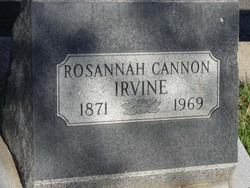 Rosannah Jenne <I>Cannon</I> Irvine