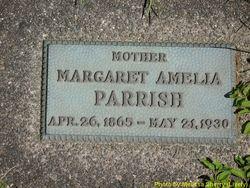 Margaret Amelia <I>Rogers</I> Parrish