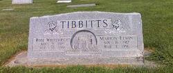Marion Elwin Tibbitts