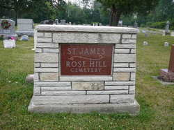 Saint James Rose Hill Cemetery