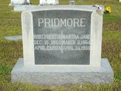 """Martha Jane """"Marthy"""" <I>Baird</I> Pridmore"""