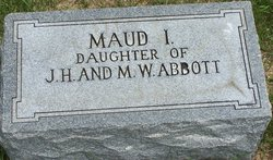 Maud I. Abbott