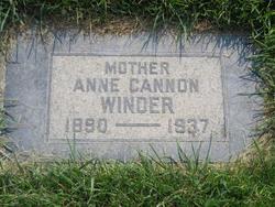 Anne <I>Cannon</I> Winder