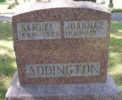 Joanna E <I>Simpson</I> Addington