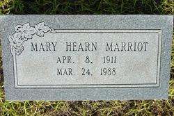 Mary <I>Hearn</I> Marriot