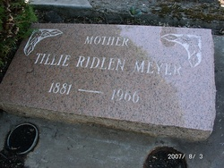"Matilda Kunigunda ""Tillie"" <I>Blum</I> Meyer"