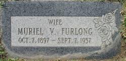 """Muriel Victoria """"Molly"""" <I>Hatch</I> Furlong"""