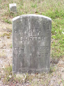 Henrietta S Carter