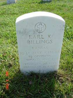 Earl K Billings