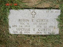 Rubin E Curtis