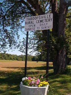 Throopsville Rural Cemetery
