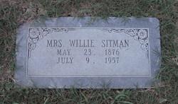 Mrs Willie Sitman