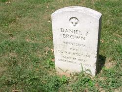 Private Daniel J Brown