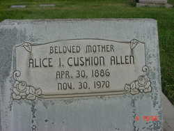 Alice I <I>Cushion</I> Allen