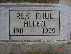 Rex Paul Allen