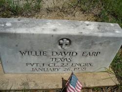 Willie David Earp