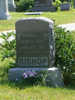 Sarah Jane <I>Ray</I> Bishop