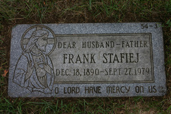 """Franciszek """"Frank"""" Stafiej"""