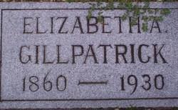 Elizabeth Almeda <I>Baker</I> Gillpatrick
