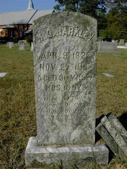 Hezekiah Cowan Barkley (1825-1915) - Find A Grave Memorial