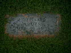 Ethel <I>Ward</I> Armes
