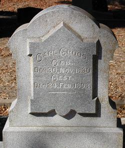 Carl Wilhelm August Groos
