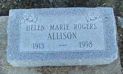 Helen Marie <I>Rogers</I> Allison