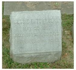 """Elizabeth Evans """"Bessie"""" <I>Rhodes</I> Townsend"""