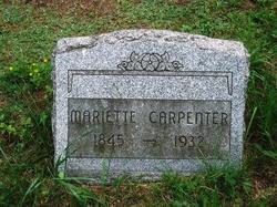 Mariette Carpenter