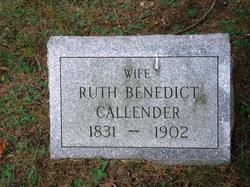 Ruth <I>Benedict</I> Callender