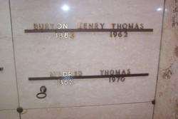 Burton Henry Thomas, Sr