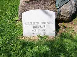 "Elizabeth Florence ""Lizzie"" Dunbar"