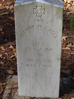 Pvt Henry H Cates