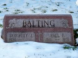 Paul F Balting