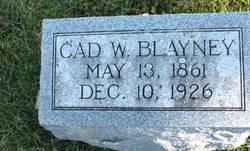 """Cadwallader W """"Cad"""" Blayney"""