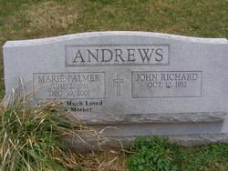 Marie <I>Palmer</I> Andrews