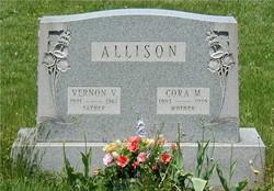 Cora M. <I>Allison</I> Allison