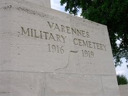 Varennes Military Cemetery