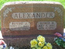 Bessie J. <I>James</I> Alexander