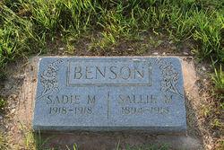 Sallie M. Benson