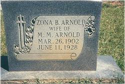 Zona Bell <I>Hardy</I> Arnold